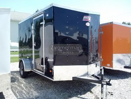 2017 American Hauler Industries 6x12 Night Hawk Enclosed Cargo Trailer