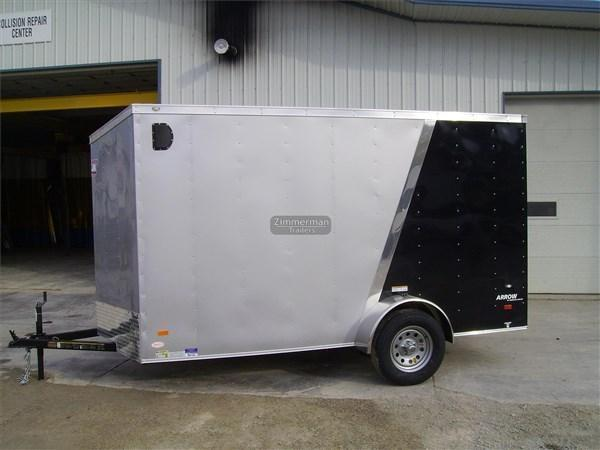2017 American Hauler Industries 6x12 Arrow Enclosed Cargo Trailer