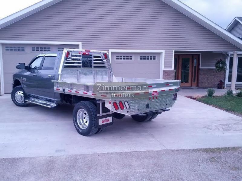 2019 Zimmerman 97x102 Aluminum Truck Body