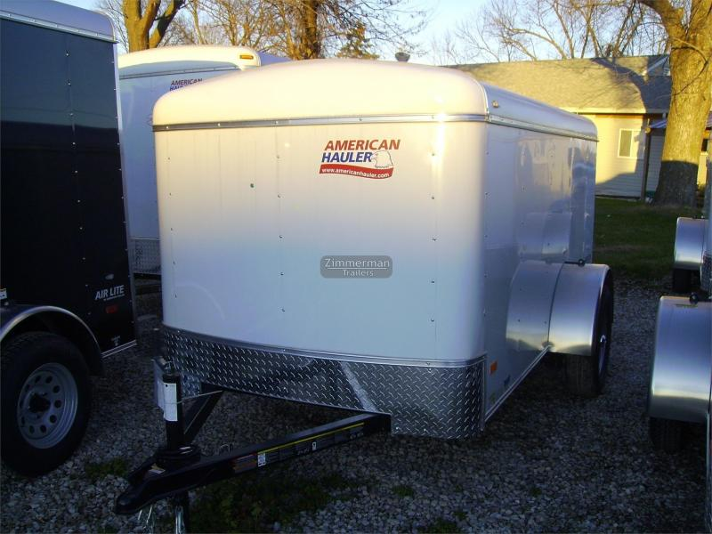 2017 American Hauler Industries 5x10 Air Lite Enclosed Cargo Trailer