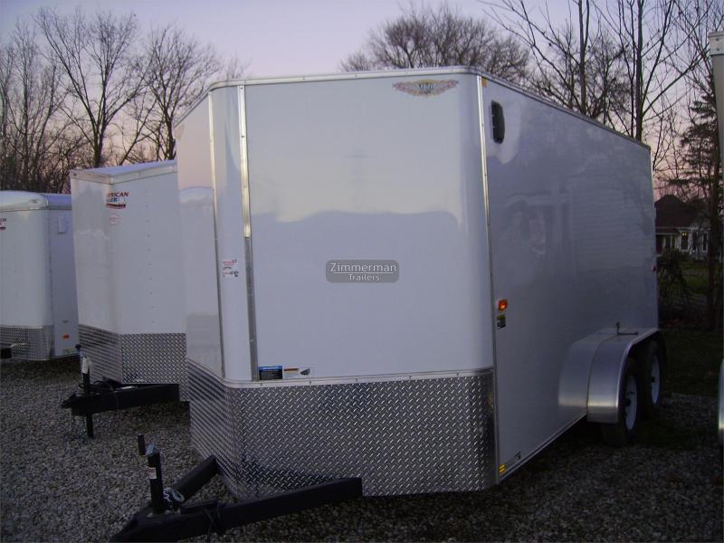 2017 H and H Trailer CA 7x14 V-Nose