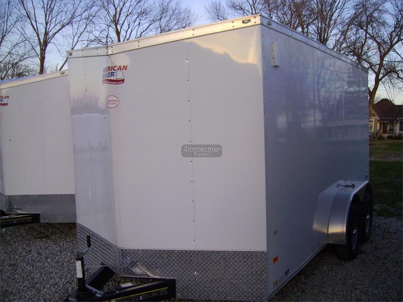 2017 American Hauler Industries 7x14 Arrow Enclosed Cargo Trailer
