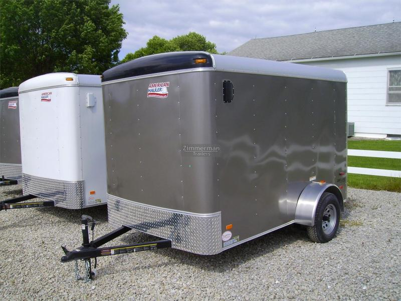 2017 American Hauler Industries 6x10 Air Lite Enclosed Cargo Trailer