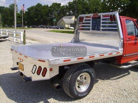 2017 Zimmerman 84x102 Truck Body
