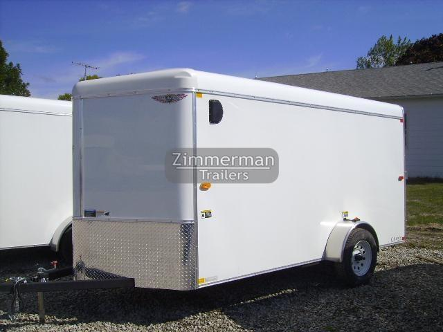 2017 H and H Trailer CA 6x12 V-Nose