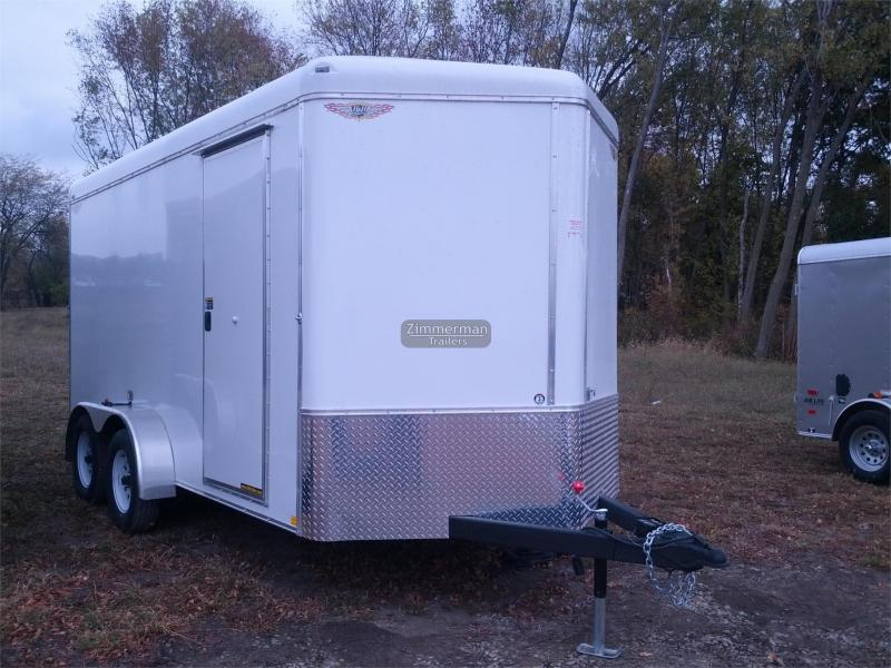 2017 H and H Trailer 7x14 V-Nose Enclosed Cargo Trailer