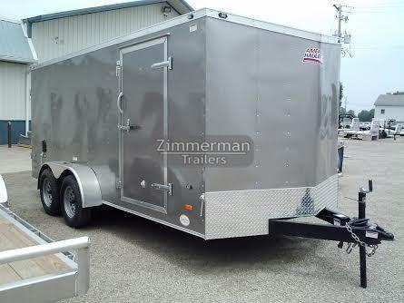 2017 American Hauler Industries 7x16 Nigth Hawk Enclosed Cargo Trailer