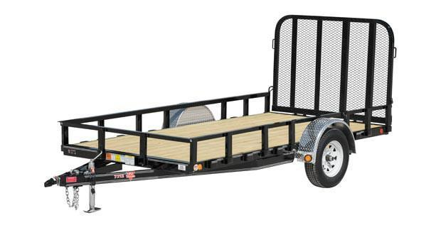 "2017 PJ Trailers 10 x 72"" Channel Utility"