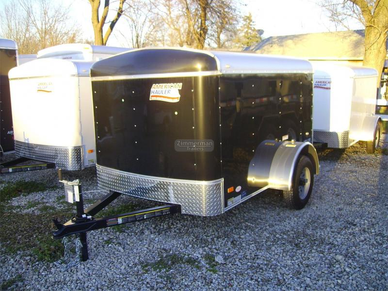 2017 American Hauler Industries 5x8 Air Lite Enclosed Cargo Trailer
