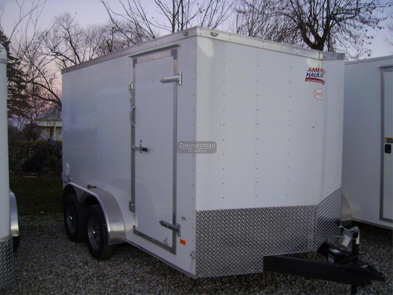 2017 American Hauler Industries 7x12 Night Hawk Enclosed Cargo Trailer