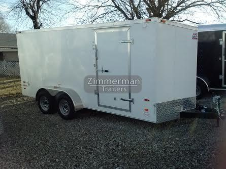 2017 American Hauler Industries 7x16 Arrow Enclosed Cargo Trailer