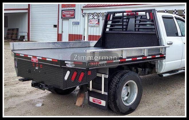 2017 Zimmerman 97x102 Steel Truck Body