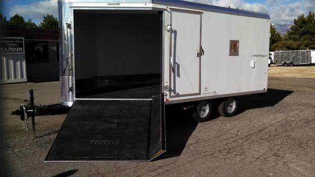 2017 Look Trailers Vision Pure Sport 8.5 X19 Snowmobile Trailer
