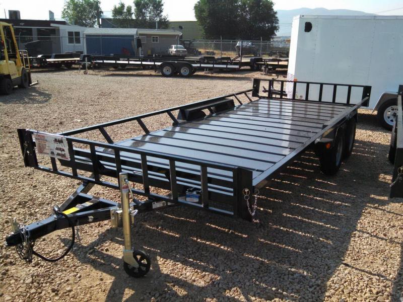 Utv Trailer Axles : Atv utv open trailers mountain west trailer sales