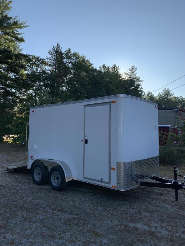 """2020 PACE 7X12 trailer ramp door/6"""" extra height/ 7000gvwr"""