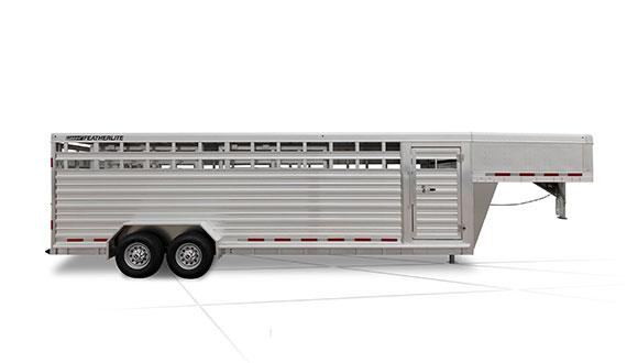 2019 Featherlite 8127 20' Livestock Trailer