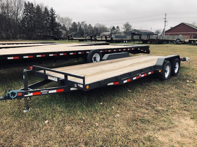 2019 PJ Trailers 20' Flatbed Trailer