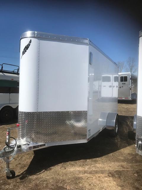 2019 Featherlite 12' Enclosed Cargo Trailer
