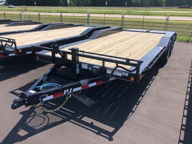 2020 PJ Trailers 22' Flatbed Trailer