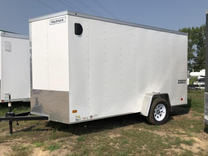 2018 Haulmark 12' Enclosed Cargo Trailer