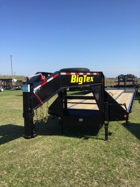 2019 Big Tex Trailers 22GN-25BK5MR Flatbed Trailer