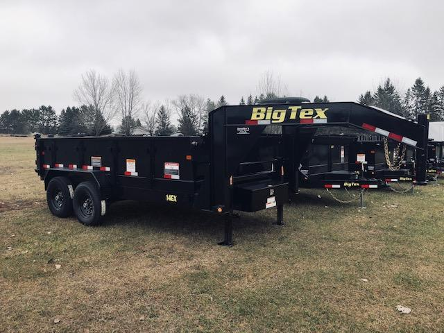 2019 Big Tex 14' Gooseneck Dump Trailer