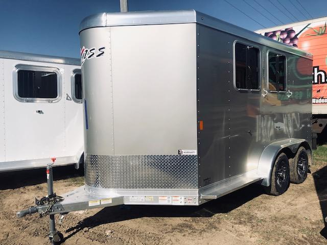 2020 Exiss Trailers 720BP Horse Trailer