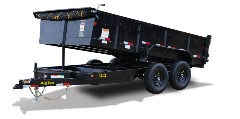 2020 Big Tex Trailers 14LX-14BK7SIRPD Dump Trailer