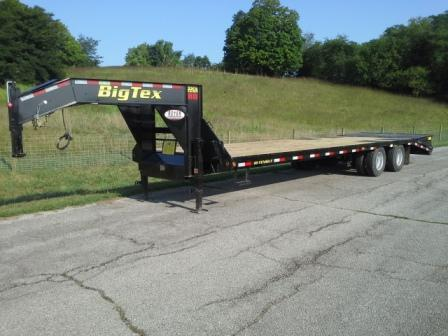 2019 Big Tex 28+5' Flatbed Trailer