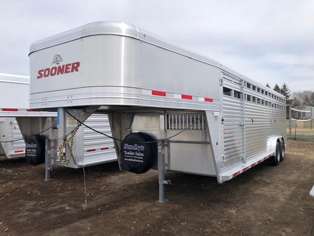 2019 Exiss Trailers 7626 Livestock Trailer
