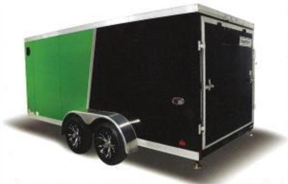 2018 Haulmark HMVG716T (3000 Trim Level) Enclosed Cargo Trailer