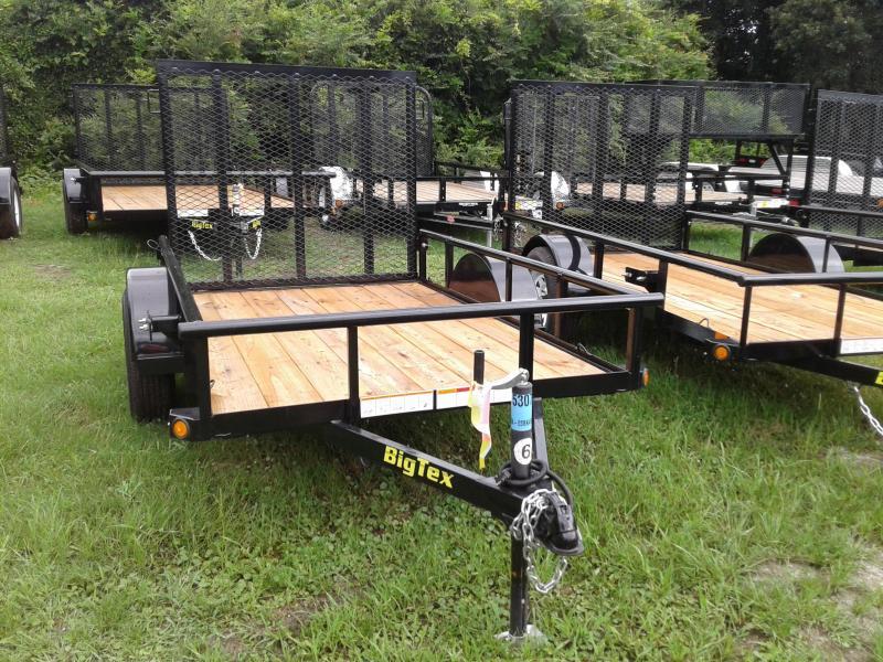 2017 Big Tex Trailers 5x8 Lawn trailer Equipment Trailer