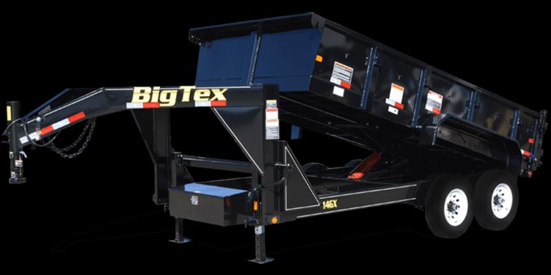 2017 Big Tex Trailers 14 DUMP TRAILER Utility Trailer