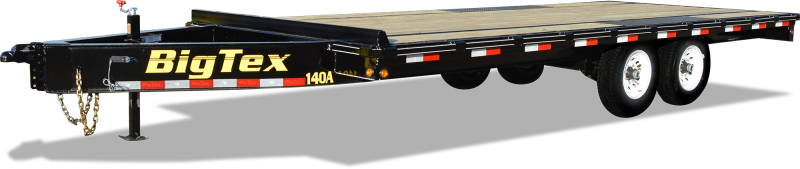 2018 Big Tex Trailers 14OA-18BK-8SIR Equipment Trailer