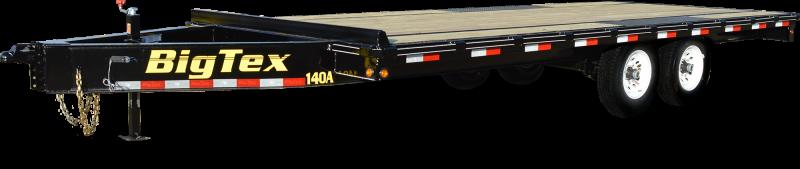 2018 Big Tex Trailers 14OA-18BK-8SIR Equipment Trailer