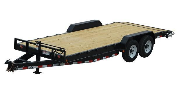 2018 PJ Trailers C8202 CARHAULER Car / Racing Trailer