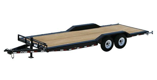 2018 PJ Trailers 22X6 Channel Super-Wide Utility Trailer