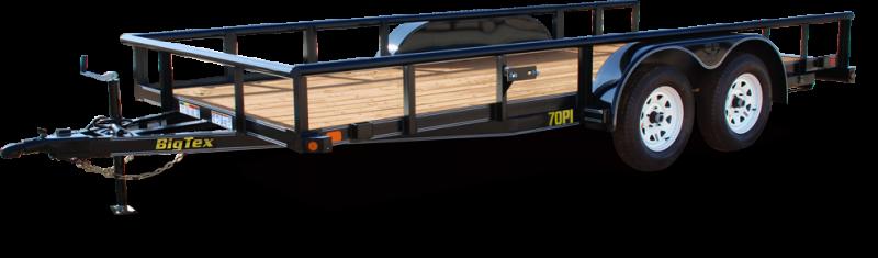 2018 Big Tex Trailers 70PI-20XBK4RG-GA Utility Trailer