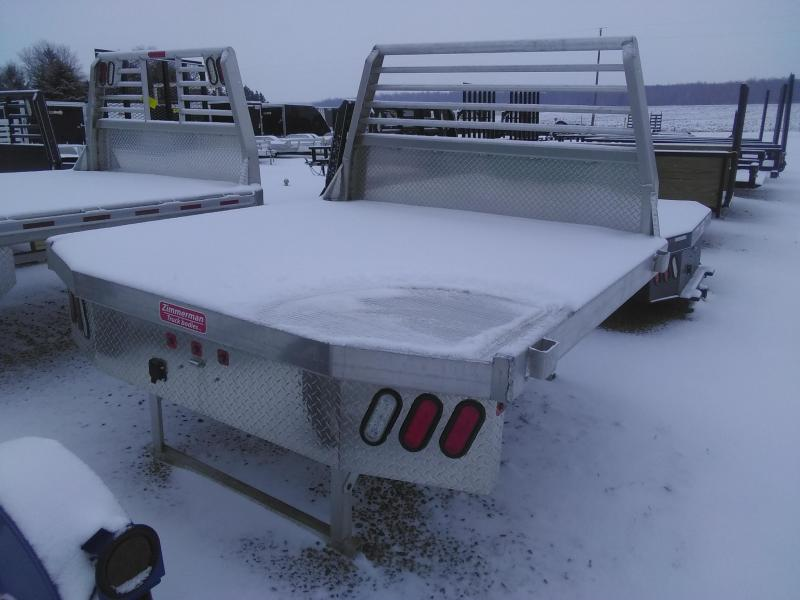 2019 Zimmerman 4000 84x84 Aluminum Truck Bed