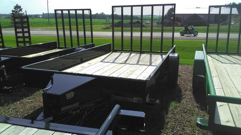 2020 Doolittle Trailer Mfg 840 Series Single Axle 3K Utility Trailer