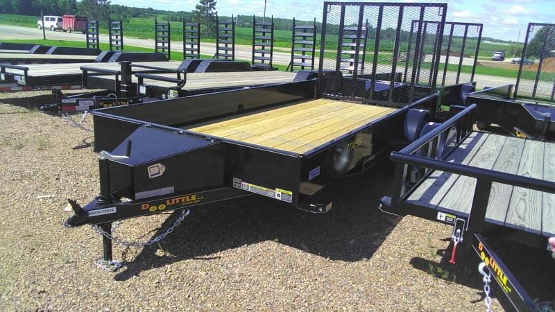 2020 Doolittle Trailer Mfg 770 Series Single Axle 3K 14FT SS Utility Trailer