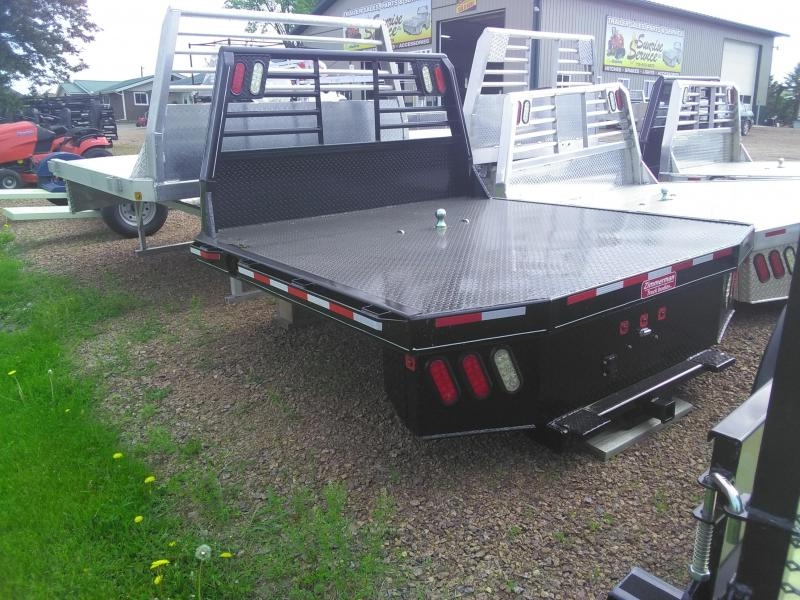 2019 Zimmerman 3000XL 84X84 STEEL FLATBED Truck Bed