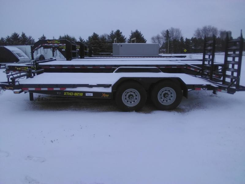 2018 Doolittle Trailer Mfg 18FT Extreme 14k Equipment Trailer