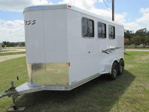 2015 Exiss GREAT 3H SLANT LOAD BP Horse Trailer