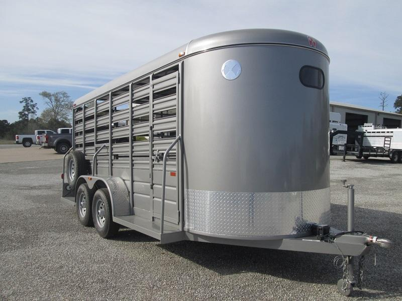 2018 W-W Trailer ALL AROUND Livestock Trailer