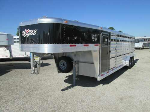 2014 Exiss Trailers 24 ft Stock / Stock Combo Trailer