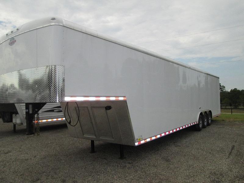 2017 Cargo Mate 3 A/C UNITS Enclosed Cargo Trailer