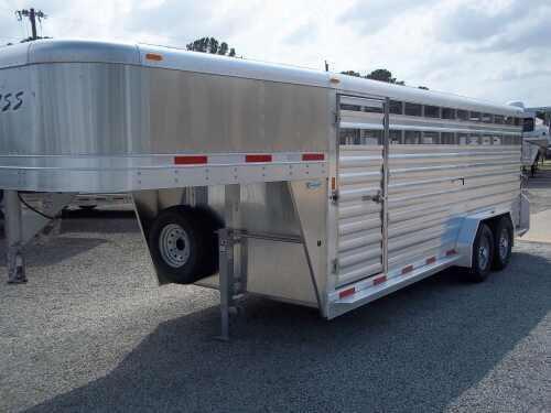 2013 Exiss 20 ft Stock Trailer