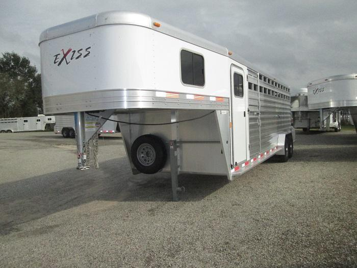 2016 Exiss 24FT STOCK/COMBO 7 FT TALL Livestock Trailer
