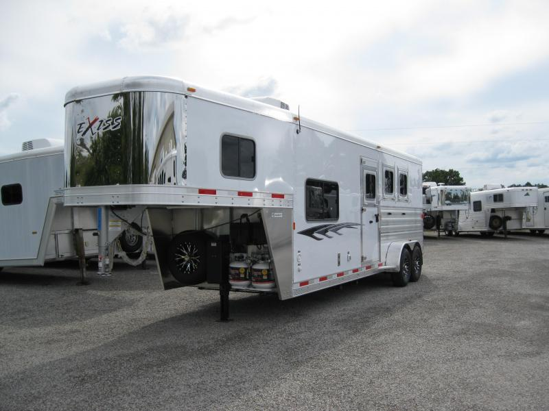 2015 Exiss 6308 LQ Horse Trailer